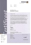 BSB certificaat: vooraf vervaardigde beton producten