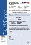 Conformiteitscertificaat Balken/Trappen enz.